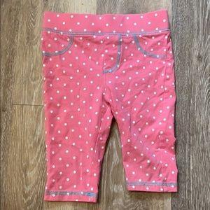 Adventure wear 2t polka dot pink leggings